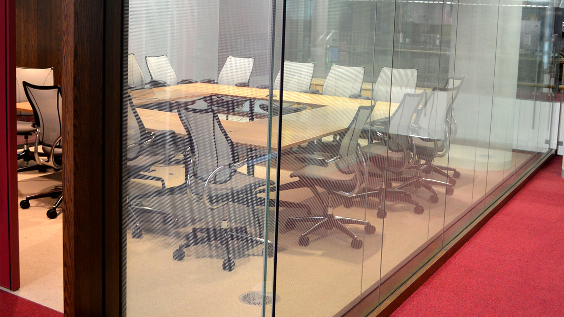 Single Glazed & Double Glazed Aluminium Framed Partitions