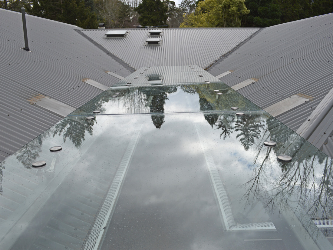 Frameless Glass Roof Panel stirling